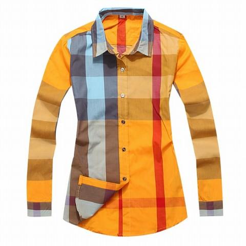 burberry chemise chemise carreaux manche homme imitation a longue YwYrBfq f63f01dd1da